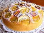 Ciasto ucierane ze śliwkami... z mojego sadu. Doskonały deser!!!