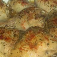 Kurczak duszony w ziołach