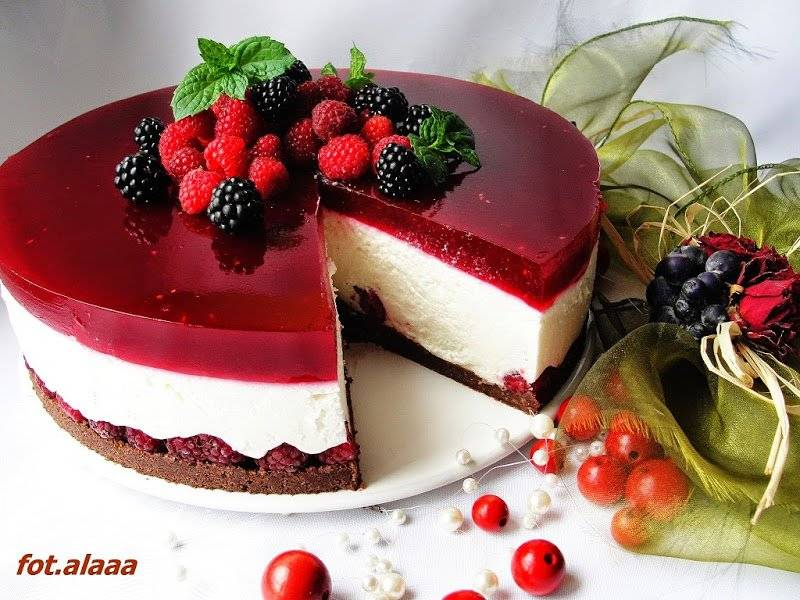 Ciasta bez pieczenia - galeria