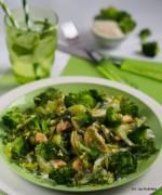 Warzywa, kurczak, makaron - zielony obiad