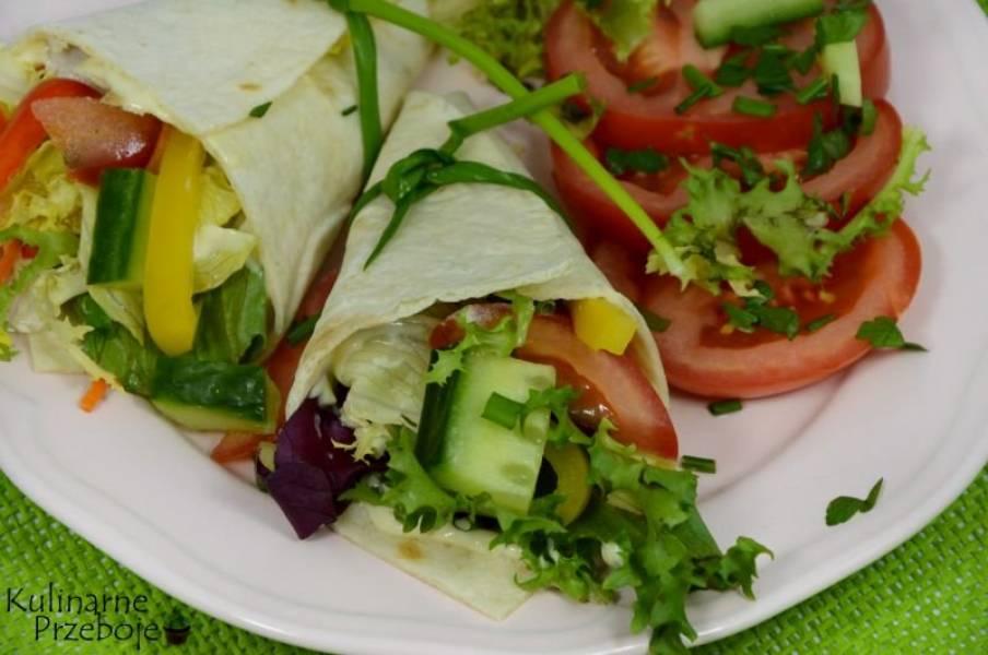Przepis Na Przekaski Na Impreze Rozki Tortilli Z Szynka