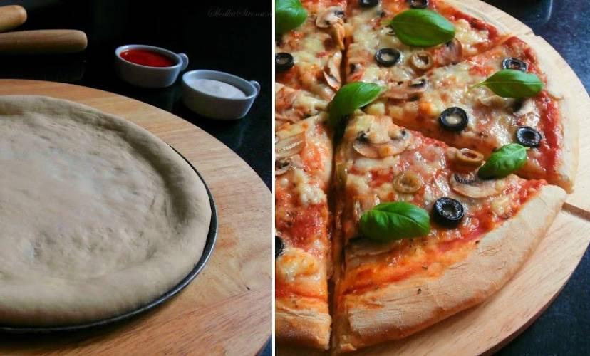 Najlepsze Ciasto na Pizze