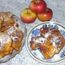puszyste placki z jabłkami...