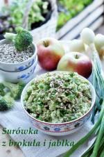 Surówka z brokuła i jabłka