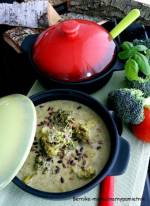 Zupa brokułowa z pesto