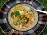 Zupa spalająca tłuszcz z brokułami