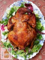 Kurczak pieczony z majerankiem i papryką