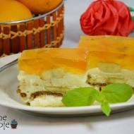 Ciasto bananowe bez pieczenia (z galaretką)