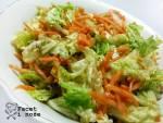 Chińska surówka z kapusty pekińskiej i marchewki