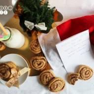 Ciasteczka dla Świętego Mikołaja - z masłem orzechowym i dżemem malinowym
