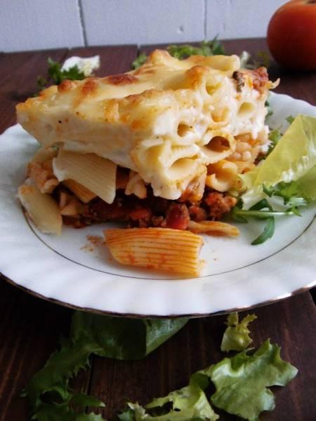 Zapiekanka makaronowa à la lasagne