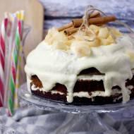 2 urodziny bloga i ciasto miodowe z jabłkami / Honey apple cake