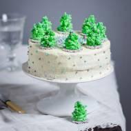 Świąteczny tort korzenno – marcepanowy.