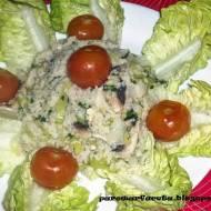 Kuskus z warzywami z parowaru