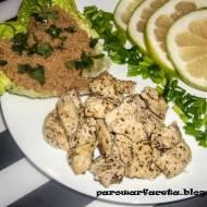 Amarantus Bio z kurczakiem z parowaru