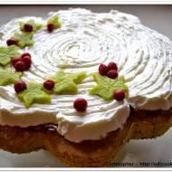 Ciasto, zaorane zielone pole
