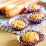 Marchewkowo-bananowe muffinki