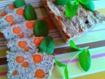 PRZEPIS - Pieczeń z mięsa mielonego z marchwią, kaszą i miętą