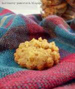 Ciasteczka z  fit-kremem orzechowym