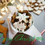Ciasto na świąteczne pierniczki cz.2. Pieczenie i lukrowanie pierniczków.
