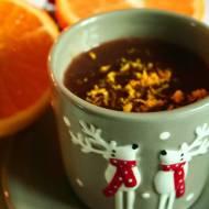 Czekolada na gorąco o aromacie pomarańczowym