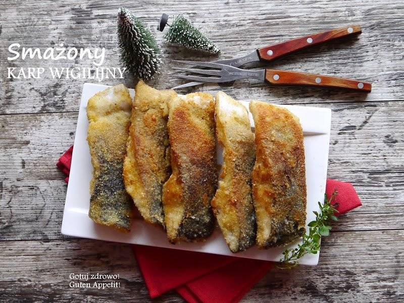 Smażony karp wigilijny i jak błyskawicznie usunąć śluz z ryby