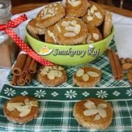Kanadyjskie ciasteczka z migdałami