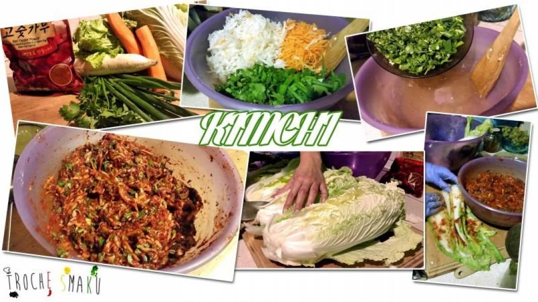 Kimchi czyli kiszona kapusta pekińska po Koreańsku