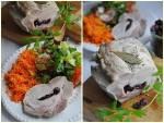 Schab z żurawiną gotowany
