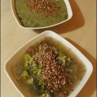 Zupa brokułowo-cebulowa
