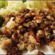 Kawałki schabu w warzywach