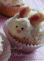 Kokosowe Muffinki - Babeczki Króliczki/Zajączki na Wielkanoc