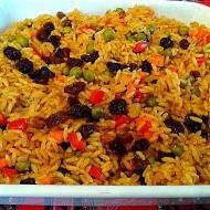 Brazylijski ryż po grecku