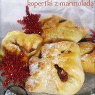 Ciasteczka koperty z marmoladą