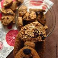 Piernikowe gryczano-owsiane biscotti z melasą p. Angeliki oraz Moniki – danie konkursowe