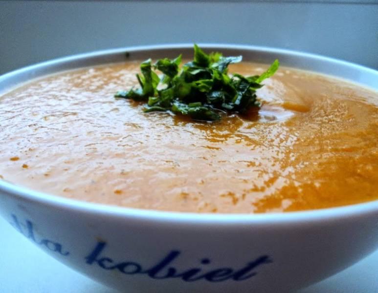 Prosta zupa dyniowa - tylko z warzyw :)