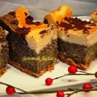 Seromak łaciaty - pyszny makowiec z serem
