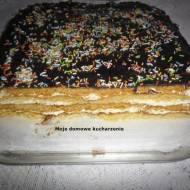 Ciasto z masą budyniową