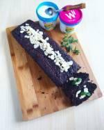 Fit ciasto czekoladowe z buraków, bez mąki