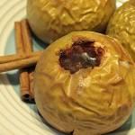 Miodowo - winne pieczone jabłka