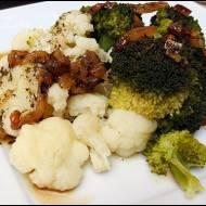 Warzywa na parze w sosie własnym