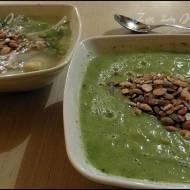 Zupa brokułowo- pietruszkowa