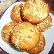 Muffinki pina colada z ziarnami i współpraca z Ziarenkowo