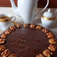 Tort orzechowy  (bez mąki)