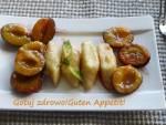 Leniwe pierogi z karmelizowanymi śliwkami
