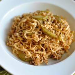 makaron z zupki chińskiej