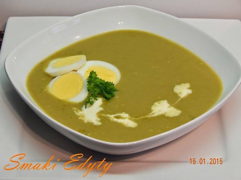 Zupa szczawiowa-kremowa