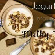 Jogurtowe ptasie mleczko a'la Milky Way