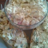 PRZEPIS - Pasta jajeczna z rzodkiewką i szczypiorkiem