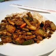 Ekspresowy ostro-warzywny chińczyk.